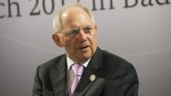 Schäuble eröffnet G-20-Finanzministertreffen