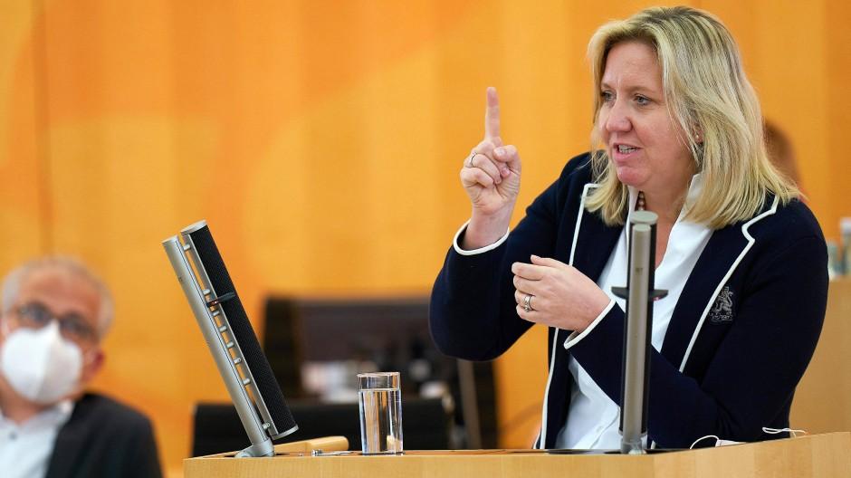 Wünscht sich Solidarität, die auf Gegenseitigkeit beruht: Ines Claus, Vorsitzende der CDU-Landtagsfraktion