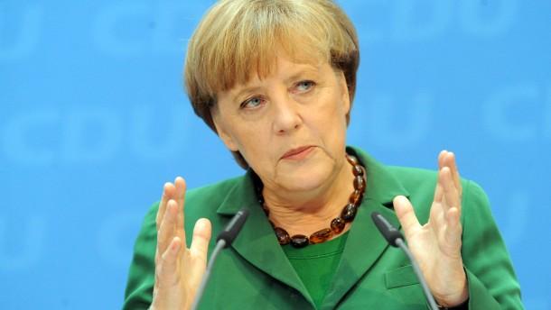 Merkel: Fiskalpakt wird nicht neu verhandelt