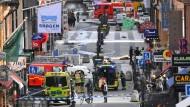 """""""Veränderte Sicherheitslage"""":  Stockholm 2017 nach einem Terroranschlag"""
