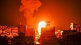 Israel setzt Luftangriffe im Gazastreifen fort