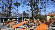 Derzeit geschlossen: Biergarten im Englischen Garten in München (Symbolbild)