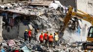 Siebenstöckiges Gebäude in Nairobi eingestürzt