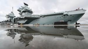 Das britische Militär spielt in einer anderen Liga