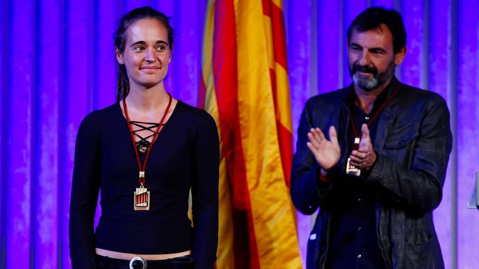 Ehrenmedaille für Carola Rackete