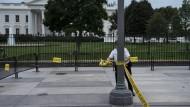 Auf den Fluren des Weißen Hauses