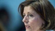 Die Ministerpräsidentin von Rheinland-Pfalz, Malu Dreyer (SPD), gibt ihre erste Regierungserklärung ab