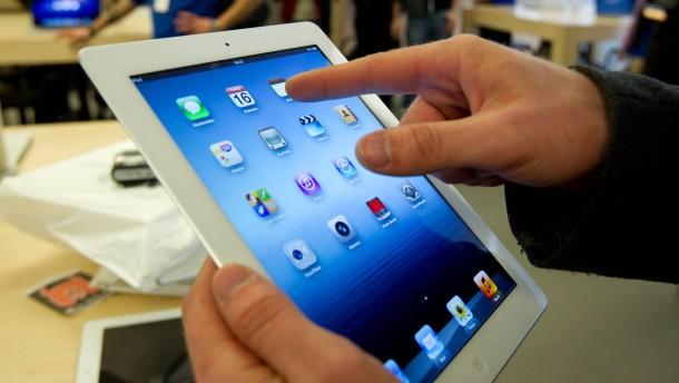 Das neue iPad als Taschenwärmer