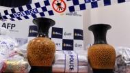 Polizei findet eine halbe Tonne Drogen