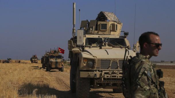 Türkei startet Offensive in Nordsyrien