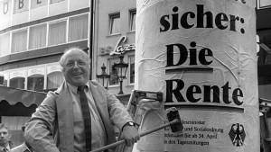 Zurück zur Rente à la Blüm?