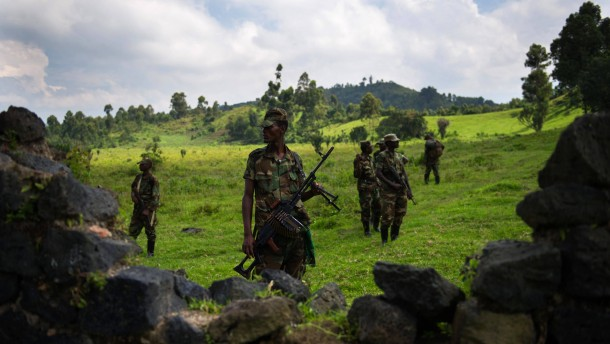 """""""M 23""""-Rebellen setzen Vormarsch auf Goma fort"""