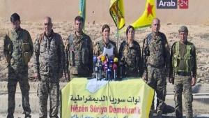 Kurdische Kämpfer: Offensive auf IS-Hochburg Raqqa läuft