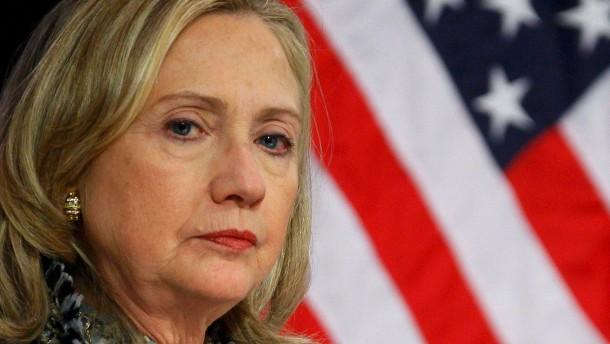 Clinton: Assad notfalls mit Gewalt zu Frieden zwingen