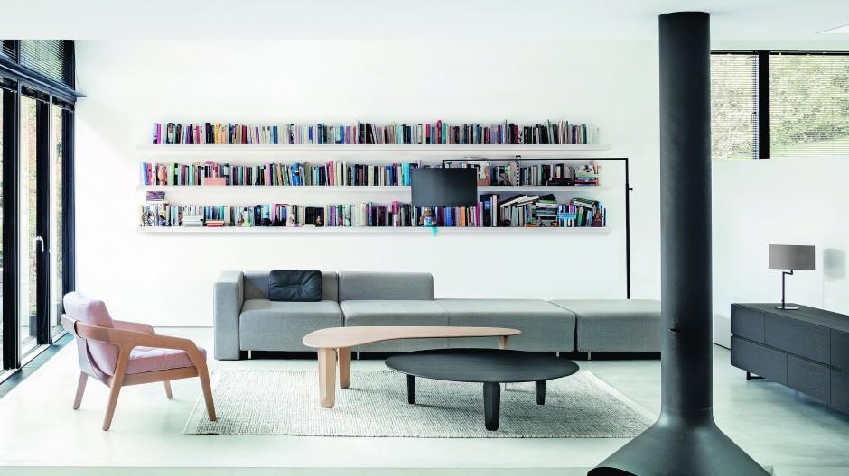 Möbel des bayrischen Unternehmens Zeitraum, das mit dem deutschen Nachhaltigkeitspreis ausgezeichnet wurde.