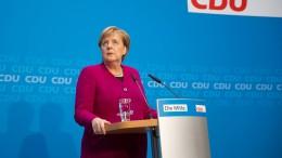 Merkels Rückzugs-Rede im Video