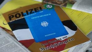 """Zahl der """"Reichsbürger"""" dramatisch gestiegen"""