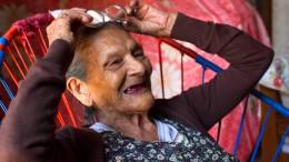 Schülerin mit 96 Jahren