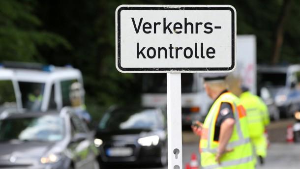 Verkehrskontrolle in Mülheim eskaliert