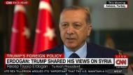 Erdogan über sein Telefongespräch mit Trump