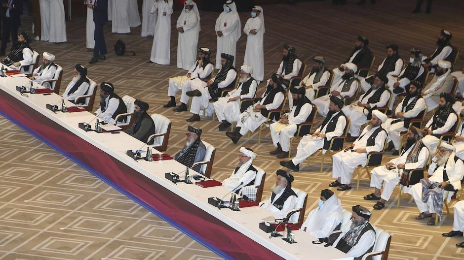 Friedensgespräche zwischen Regierung und Taliban