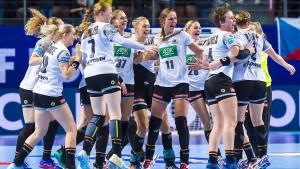 DHB-Frauen erreichen Hauptrunde der EM
