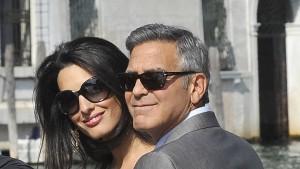 Clooney und Alamuddin haben geheiratet