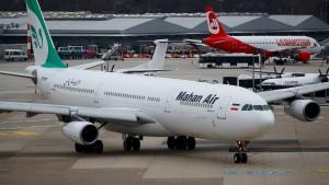 Bundesregierung stoppt Flüge iranischer Fluggesellschaft