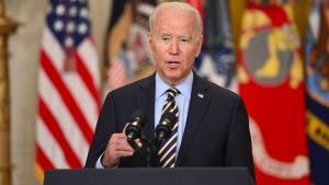 Joe Biden verteidigt Afghanistan-Abzug
