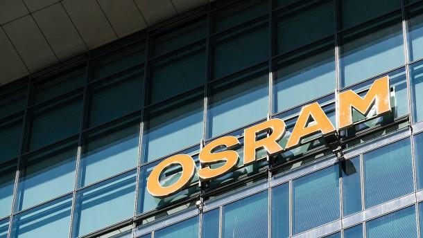 Osram-Kurs steigt stark