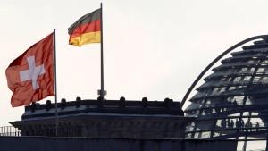 Merkel sieht erhebliche Probleme mit der Schweiz