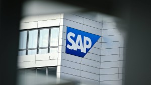 Lizenzgeschäft von SAP bricht ein