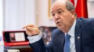"""Präsident Nordzyperns: """"Die Türkei wird sich niemals aus Zypern zurückziehen"""""""