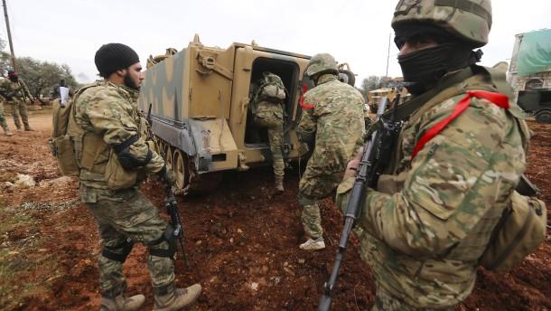 Russland warnt Türkei vor Offensive in Syrien
