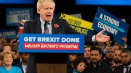 Johnson verspricht Austritt im Januar
