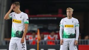 So schenkt Gladbach die Europa League her