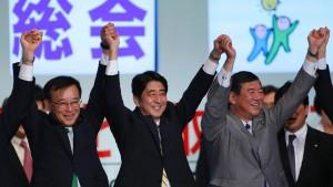 Abe führt Oppositionspartei