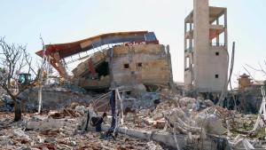 Krankenhäuser in Syrien bombardiert