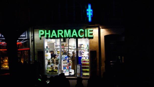 Franzosen nehmen Medikamente gegen die Angst