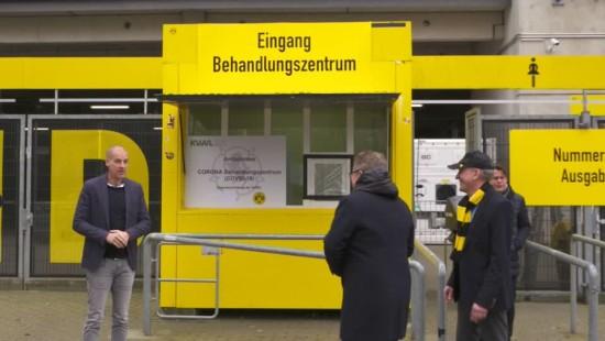 Borussia Dortmund macht Stadion zur Corona-Krankenstation