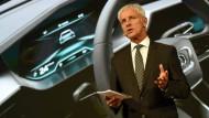 Muss auf vielen Baustellen arbeiten: VW-Chef Matthias Müller