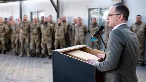 Deutsche Soldaten bleiben im Irak