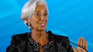 IWF-Chefin Lagarde bläst Reise nach Saudi-Arabien ab