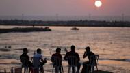 Strandleben in Gaza