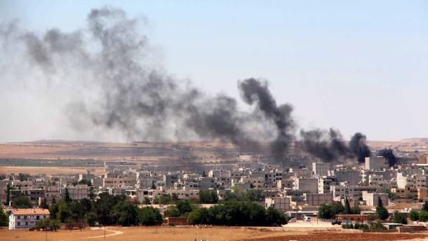 IS tötet mehr als hundert Menschen in Kobane