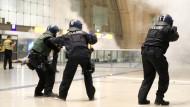 Nächtliche Anti-Terror-Übung im Hauptbahnhof