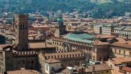 Eine Reise in die italienische Stadt Bologna