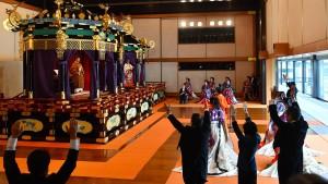 Japans neuer Kaiser stellt sich vor