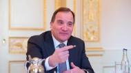 Der schwedische Ministerpräsident Stefan Löfven