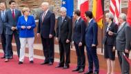 G7-Gipfel startet in Taormina